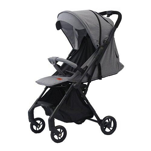 Прогулочная коляска Nuovita Sfera platino grigio nero, цвет шасси: черный
