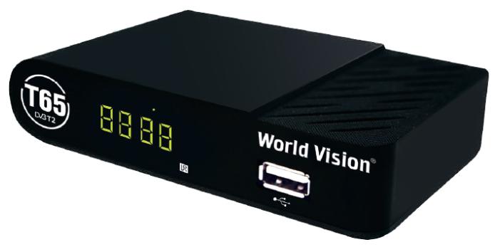 Цифровая приставка World Vision T65 эфирный ресивер DVB-T2