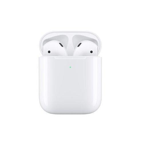 Купить Наушники Apple AirPods 2 (беспроводная зарядка чехла) white