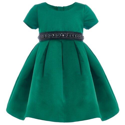 Купить Платье Gulliver Baby размер 86, зеленый, Платья и юбки