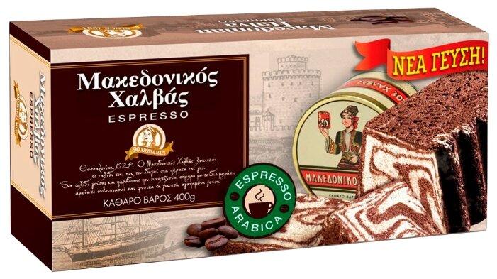 Македонская халва HAITOGLOU с кофе эспрессо