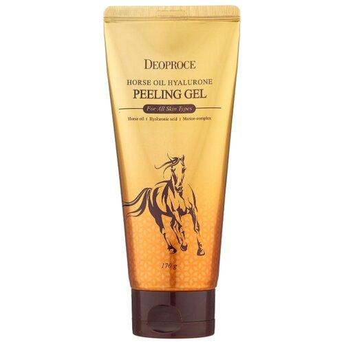 Купить Deoproce пилинг-гель для лица Horse Oil Hyalurone 170 г