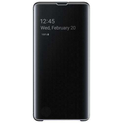 Чехол Samsung EF-ZG975 для Samsung Galaxy S10+ черный чехол samsung ef qg975 для samsung galaxy s10 бесцветный