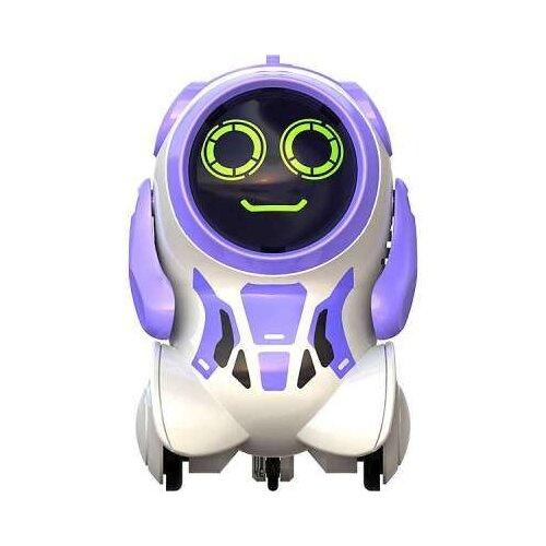 Купить Интерактивная игрушка робот Silverlit Pokibot Круглый фиолетовый, Роботы и трансформеры
