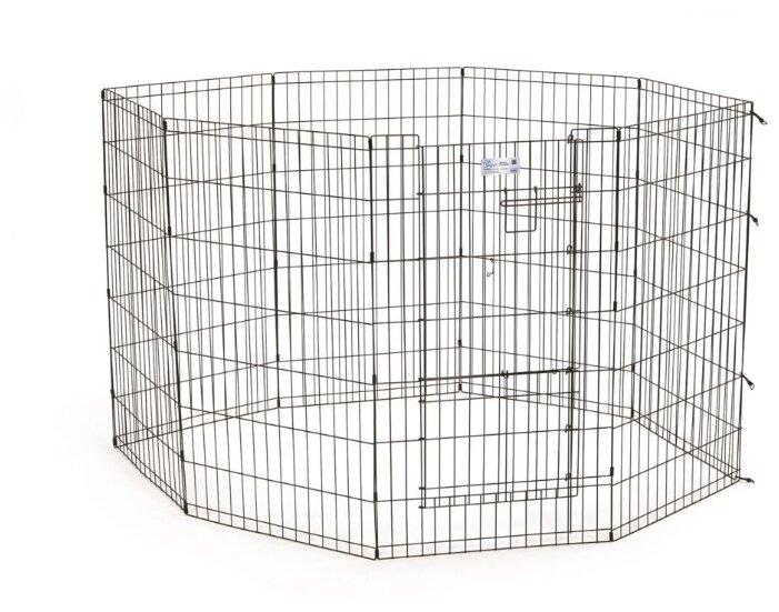 MidWest - вольер для собак и кошек Life Stages 8 панелей с дверью-MAXLock мидвест
