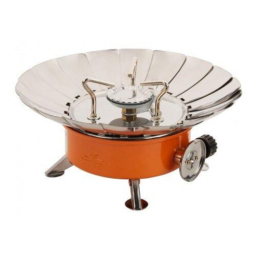 Горелка TOURIST TULPAN-L TM-450 серебристый/оранжевый плита tourist buran tm 080