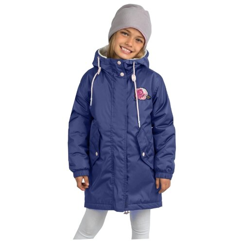 Купить Парка BOOM! размер 104-56-51, темно-синий, Куртки и пуховики