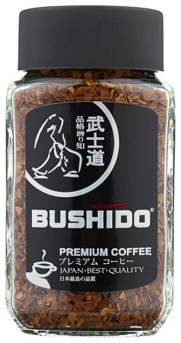 Кофе растворимый Bushido Black Katana, 50 г