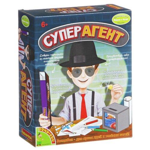 Купить Игровой набор BONDIBON Французские опыты Науки с Буки. Суперагент ВВ1344, Полицейские и шпионы