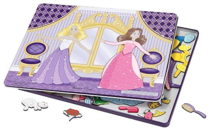 Игровой набор Melissa & Doug Dance All Night Magnetic Tin Dress-Up Set