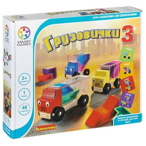 Купить Головоломка BONDIBON Smart Games Грузовички 3 (BB0867), Головоломки