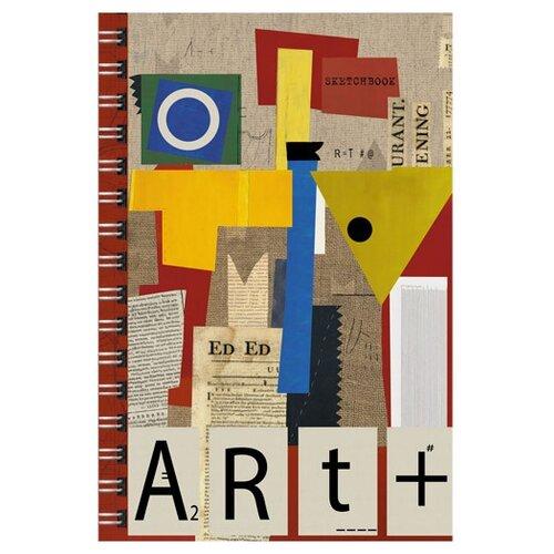 Скетчбук для зарисовок Канц-Эксмо Искусство без границ 21 х 14.8 см (A5), 100 г/м?, 100 л.Альбомы для рисования<br>