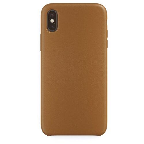 Чехол uBear Capital Leather для Apple iPhone X/Xs brown