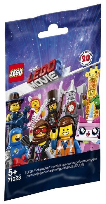 Конструктор LEGO The LEGO Movie 71023 Коллекция минифигурок