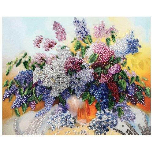 Белоснежка Набор для вышивания бисером Сирень 30 x 24 см (9026-CM)