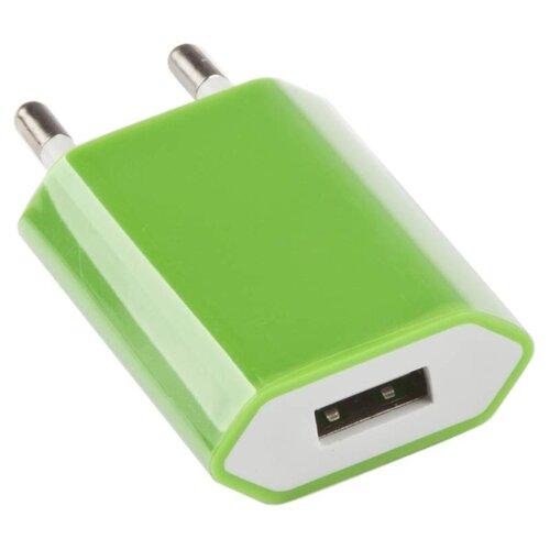 Сетевая зарядка Liberty Project R0003917 зеленыйЗарядные устройства и адаптеры<br>