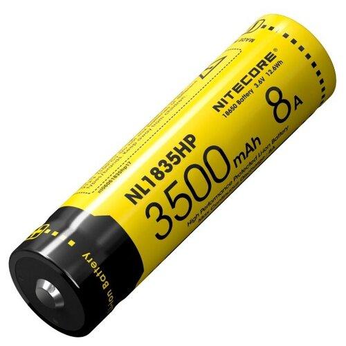 Фото - Аккумулятор Nitecore NL1835HP 18650 3500mAh, 8A аккумулятор nitecore nl1665r