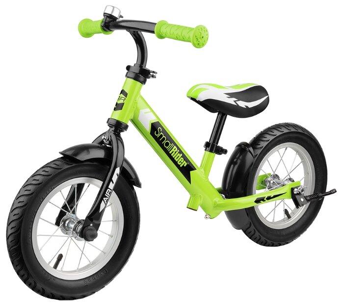 Беговел Small Rider легкий алюминиевый с надувными колесами Roadster 2 Air Синий