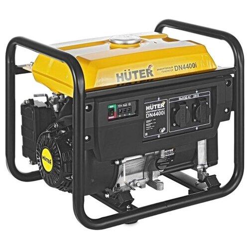 Бензиновый генератор Huter DN4400I (3300 Вт) газо бензиновый генератор huter dy4000lg 3000 вт
