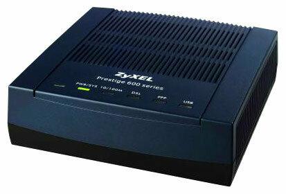 Модем ZYXEL P-660RU EE
