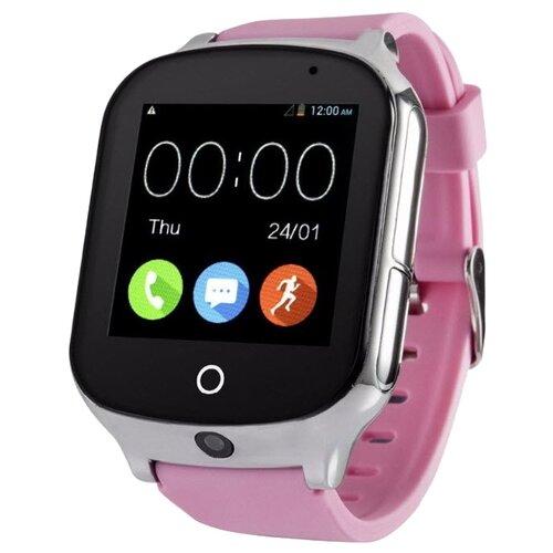 Детские умные часы Smart Baby Watch T100 / A19 розовый часы smart baby watch sbw x бирюзовый