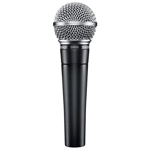 Микрофон Shure SM58-LCE темно-серый