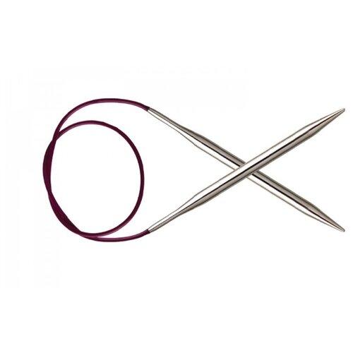 Купить Спицы Knit Pro Nova Metal 10325, диаметр 2.2 мм, длина 80 см, серебристый