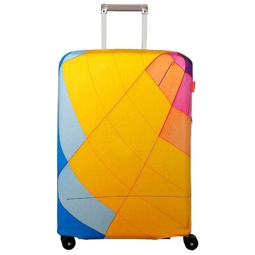 Чехол для чемодана ROUTEMARK Aerostat SP240 M/L, синий/желтый