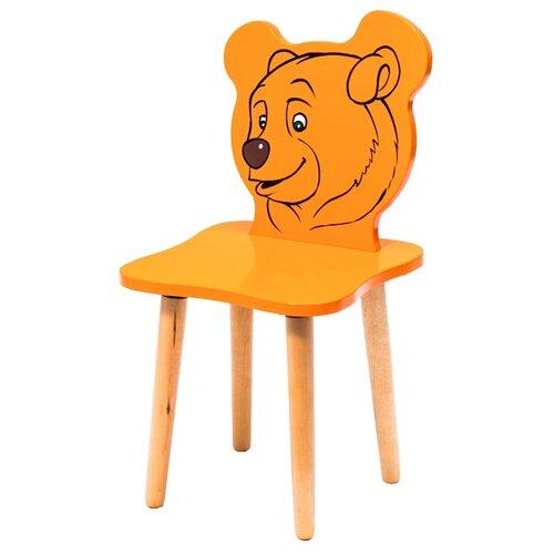 Купить Стул Polli Tolli Джери Медвежонок оранжевый, Стулья и табуреты