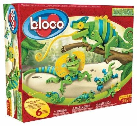 Конструктор Bloco 21001 Ящерицы и хамелеоны