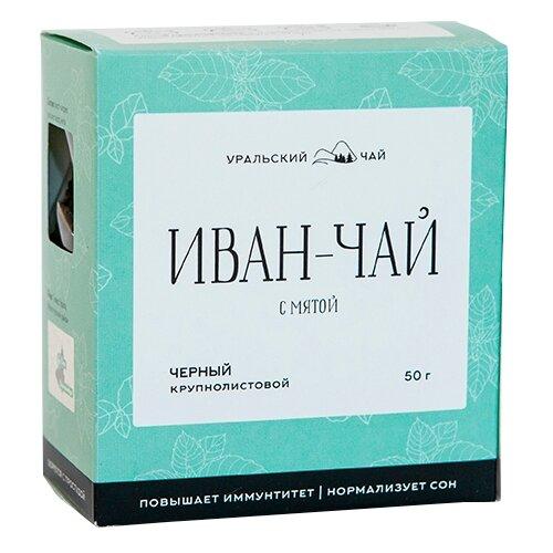 чай Чай травяной Уральский чай Иван-чай с мятой, 50 г