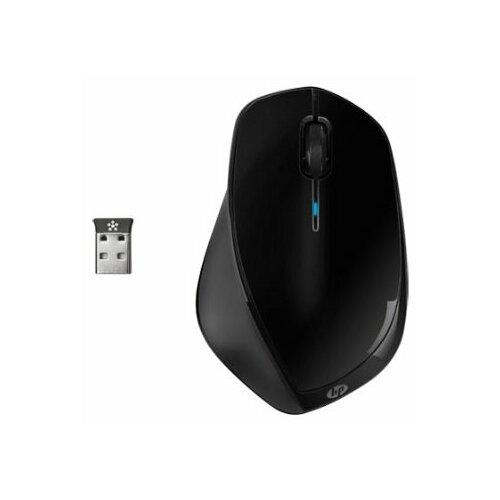 Беспроводная мышь HP H2W16AA x4500 Black USB мышь hp x4500 black h2w26aa