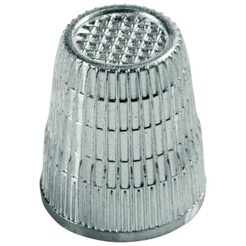 Prym Напёрсток 431859 с противоскользящей кромкой, 16.5 мм (в блистере) серебристый