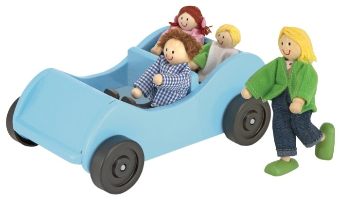 Игровой набор Melissa & Doug Road Trip! Wooden Car & Pose-able Passengers 2463