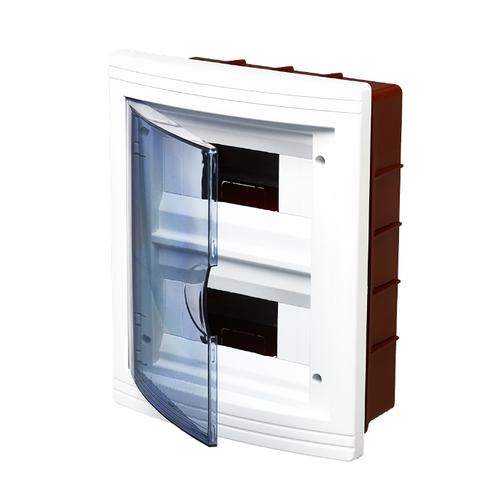 Щит распределительный Schneider Electric навесной, модулей: 8 EZ9E108S2SRU белый/прозрачный
