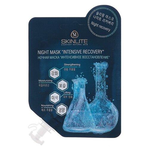 Skinlite Ночная маска Интенсивное восстановление, 15 г восстановление маска