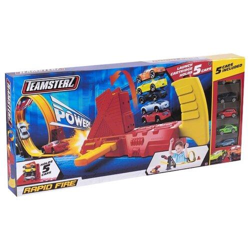 Трек HTI Teamsterz Rapid Fire (5 машинок) трек hti teamsterz rapid fire 5