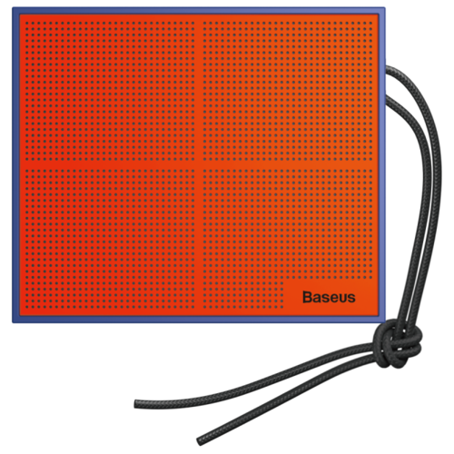 Портативная акустика Baseus Encok Music-cube E05 синий / оранжевый