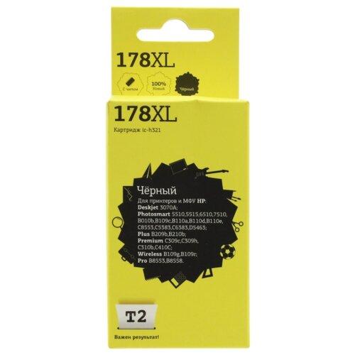 Фото - Картридж T2 IC-H321, совместимый картридж струйный t2 ic h321 178xl black