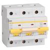 Автоматический выключатель IEK ВА 47-100 3P (C) 10kA