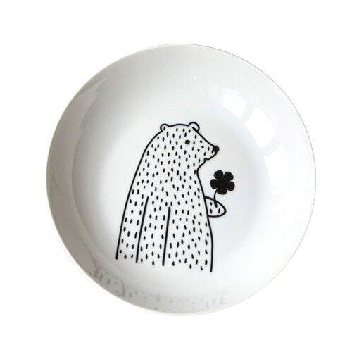 Фото - Сотвори Чудо Тарелка глубокая Цветочный мишка Sans Brides 20 см белый/черный тарелка глубокая 21 см la rose des sables тарелка глубокая 21 см