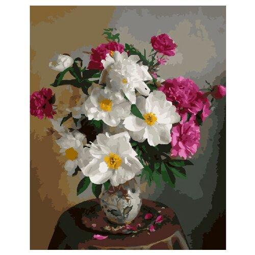 Купить ВанГогВоМне Картина по номерам Благоухание пионов , 40х50 см (ZX 20997), Картины по номерам и контурам