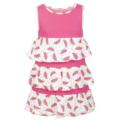 Купить Платье M&D размер 116, коралловый, Платья и сарафаны