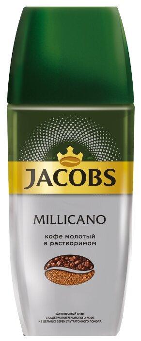 Кофе Jacobs Кофе растворимый Jacobs Millicano 95 гр. (стекло)