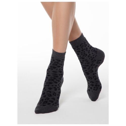 Фото - Носки Conte Elegant Comfort 17С-64СП 118, размер 23, темно-серый носки conte elegant comfort 19с 101сп размер 23 темно бордовый