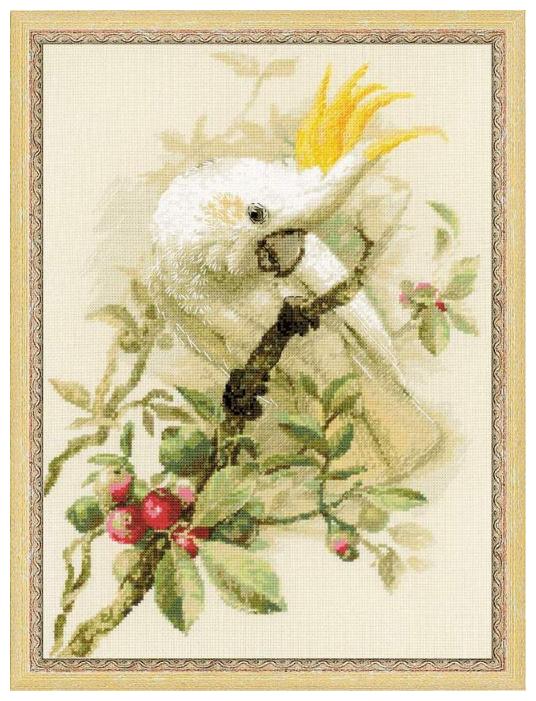 Риолис Набор для вышивания крестом Белый какаду 30 x 40 (1362)