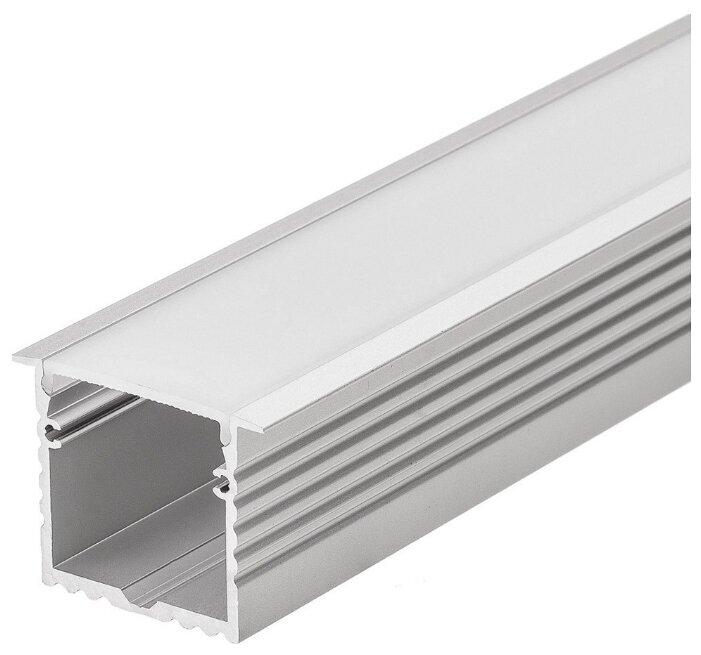 Комплект (профиль, рассеиватель) Arlight ALU-POWER-W35-2000-F ANOD+FROST