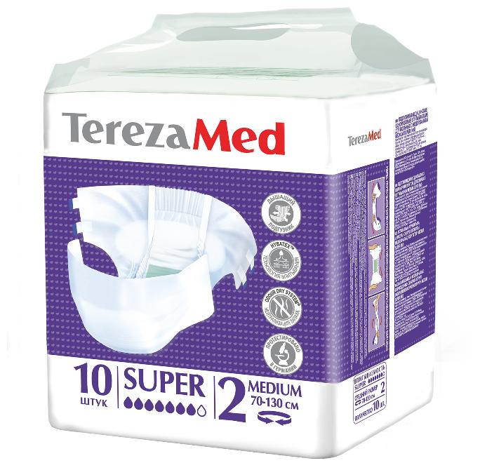 Подгузники для взрослых Tereza Med Super