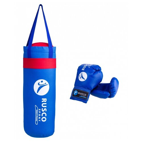 Набор для бокса RUSCO SPORT 4oz синий