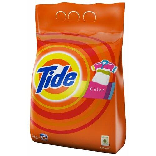 Стиральный порошок Tide Color (автомат) 3 кг пластиковый пакет